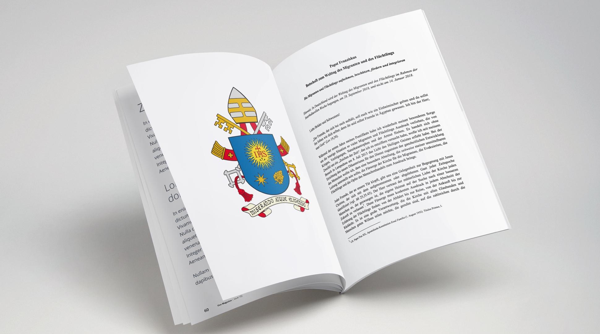 Botschaften – Papst Franziskus